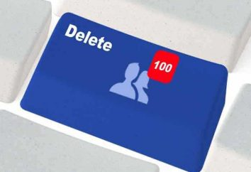 """Szczegóły na temat jak usunąć znajomych z """"Facebook"""""""