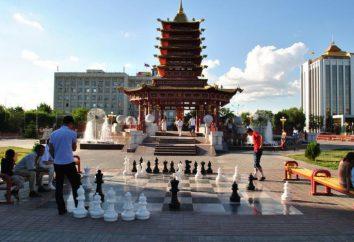 Kałmucji: kapitał, ludność, kultura