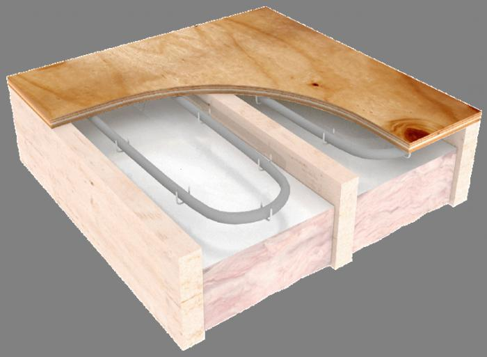 Holzboden Für Fußbodenheizung fußbodenheizung wasser auf einem holzboden fußbodenheizung in einem