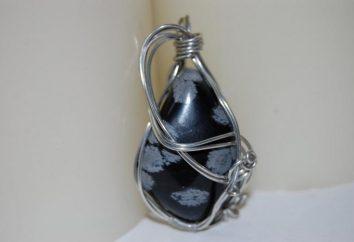 Fiable Obsidienne défenseur. pierre propriétés