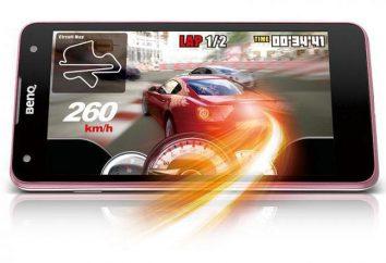 F52 smartphone – corporate identity BenQ, doskonała wydajność