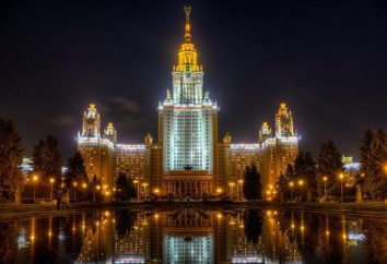 Wszystkie uniwersytety państwowe w Moskwie z miejsc budżetowych