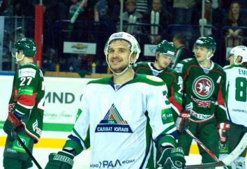 SKA St. Petersburg obrońca Zubarev Andrey: failed gwiazda NHL