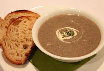 Cosa zuppa può cucinare i prodotti veloci e gustosi da rottami