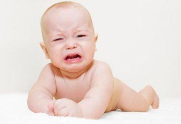 Cólicas intestinais em recém-nascidos. Causas e métodos de tratamento