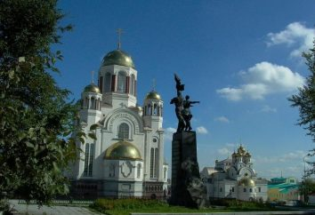 Où vous pouvez marcher à Ekaterinburg, le rendre plus intéressant?