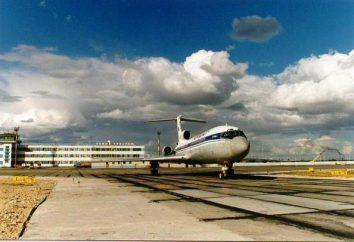 Nous arrivons à l'aéroport de New Ourengoï et ses services