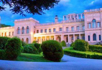 palacios de Crimea: una lista de foto y la descripción