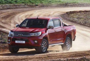 Toyota Hilux: spécifications techniques, descriptions et commentaires