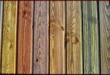 Stained drewno na meble lub parkiet własnymi rękami