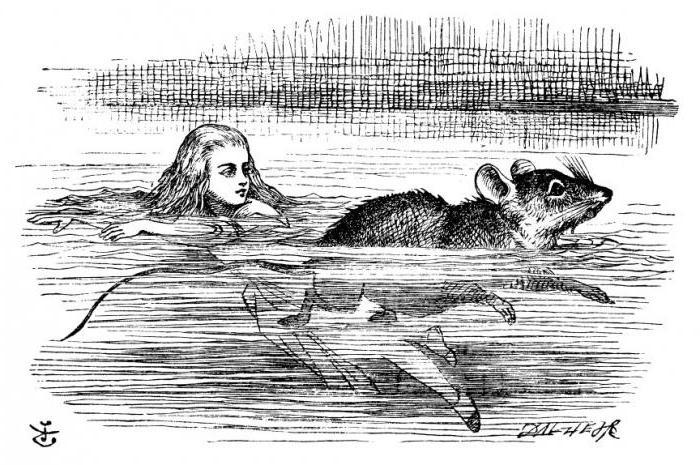 """""""Alice Im Wunderland"""": Zusammenfassung Des Buches Kapitel"""