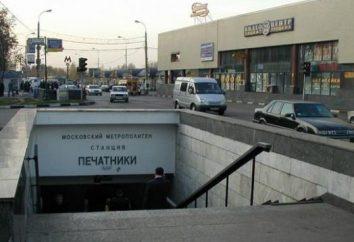 Station de métro de Moscou « Imprimantes »