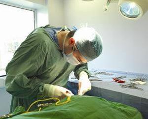 Imparare a maglia una giunzione chirurgica