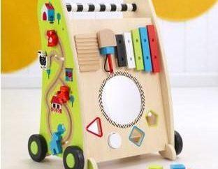 Chodzik dla dzieci, wózek – przydatne nabycie.