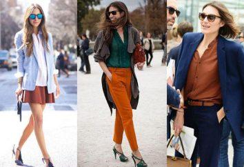 La couleur rouge-brun dans les vêtements