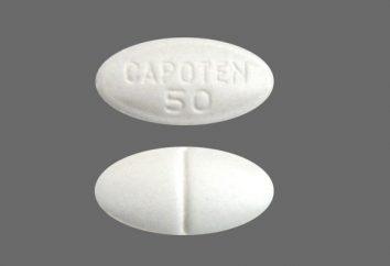 """""""Capoten"""" – farmaci ad azione rapida. Analogue """"Capote"""""""