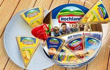 """Ser """"Hochland"""": twaróg, śmietana i inne"""