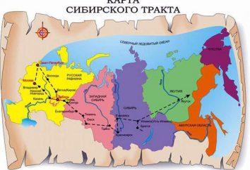 Sibirische Autobahn: Geschichte, Beschreibung, Länge