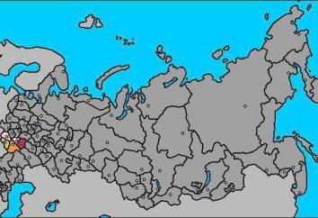 Qual è la regione economica. Centrale regione di Black Earth: informazioni di carattere generale