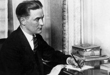 Scott Fitzgerald: une biographie et la créativité