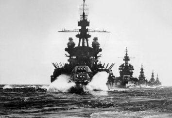 Battleships dell'URSS durante la seconda guerra mondiale (foto)
