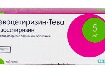 """""""Levocetirizina"""": istruzioni per l'uso, la descrizione dei farmaci, analoghi e recensioni"""