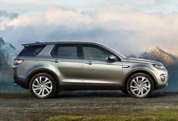 Land Rover Discovery Sport 2016: technische Daten und Modellbeschreibung