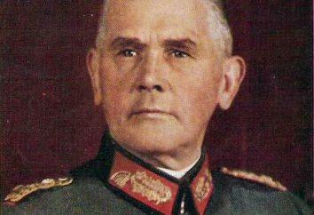 Werner von Blomberg: biographie et photo