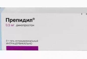 """""""Prepidil"""" (gel): descrição, instruções de utilização e feedback. Gel para indução do parto"""