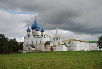 Kreml Suzdal: opis i zdjęcia zabytków
