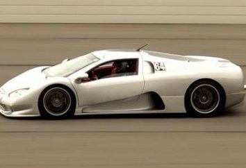 Sont à l'avance: la voiture la plus rapide dans le monde