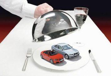 Liste des voitures qui relèvent de la taxe de luxe. Comment lire?