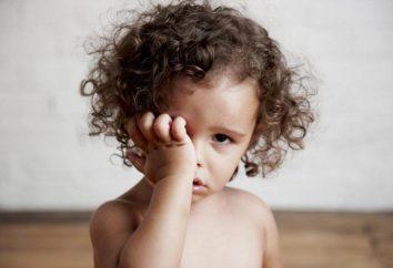 Skwaśnieć oczy dziecka 2, 3 lat. Leczenie. Dlaczego skwaśnieć oczy dziecka? Co robić?