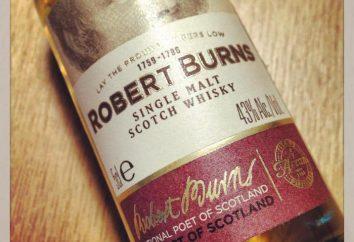 Robert Burns (whisky): opis, typy, skład i recenzje