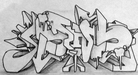 Wie Graffiti Buchstaben Zeichnen