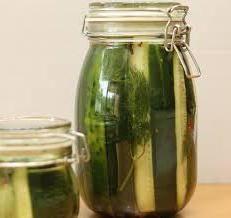 cornichons: la teneur en calories et de leurs procédés de calcul, ainsi que les propriétés avantageuses de ce légume