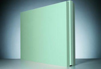 blocos de gesso: tipos, características, especificações