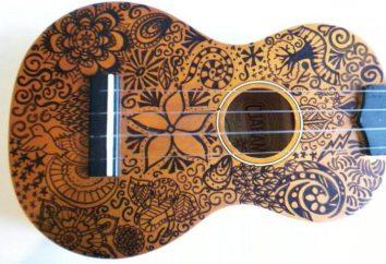 Tipi ukulele: differenze e la storia dello strumento