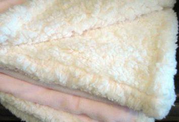 Manta de pelúcia: instruções Fundamentos selecção e lavagem