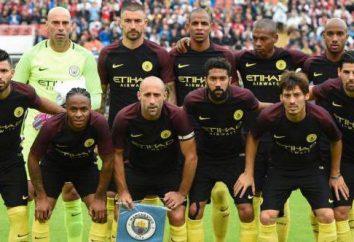"""A composição do """"Manchester City"""" para a temporada 2016/17"""