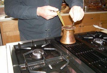 Come preparare il caffè in Turk – tutta una scienza, che si e iniziare a comprendere