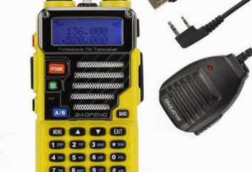 Rádio Baofeng UV-5R: comentários. Baofeng UV-5R: preços, fotos