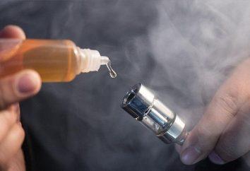 Płyn do elektronicznych papierosów z rękami (w domu)