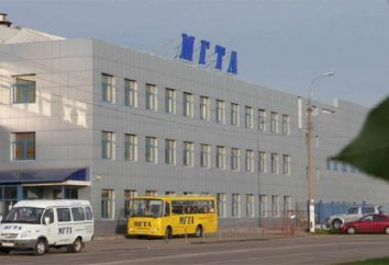 Moskwa Humanitarna-Techniczne Academy: wydziały i oddziały
