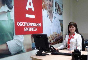 ATM « Alfa-Bank » à Saint-Pétersbourg: adresse, horaires d'ouverture