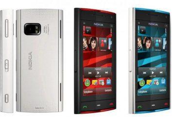 """""""Nokia X6"""": specyfikacje, instrukcje, zdjęcia"""