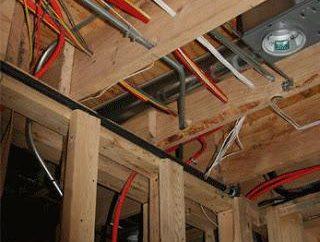 Como implementar a fiação em uma casa de madeira