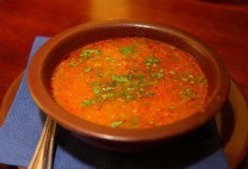 Come cucinare grub? Georgiano zuppa-grub: ricette, foto