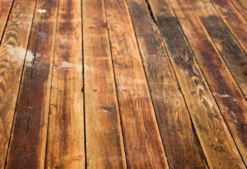 ¿Cómo alinear el suelo de madera debajo del laminado? reparaciones del piso en el apartamento