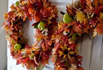 Handgefertigt aus natürlichen Materialien zum Thema Herbst. Eine faszinierende und kognitive Tätigkeit